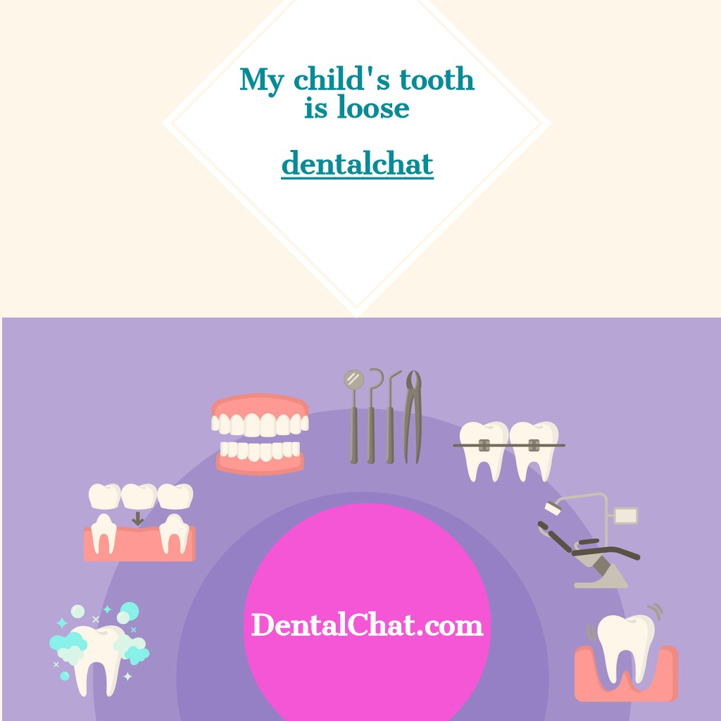 pediatric dentist questions online, my kid tooth is loose question
